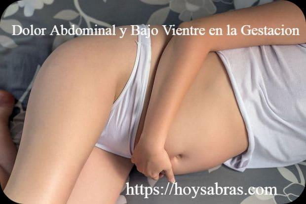 dolor en el bajo vientre durante la gestacion