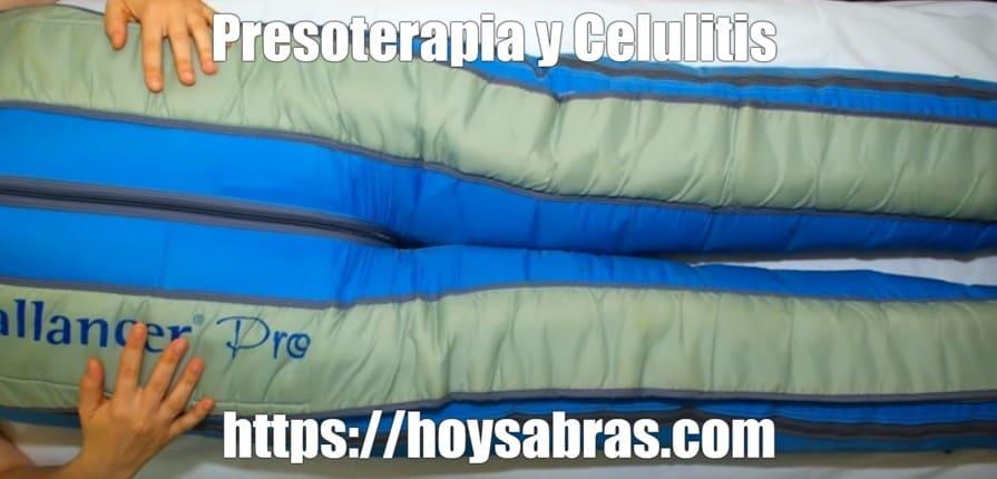 combatir celulitis con presoterapia