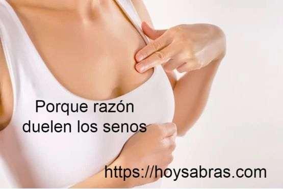 Sintomas de la menopausia duelen los pechos